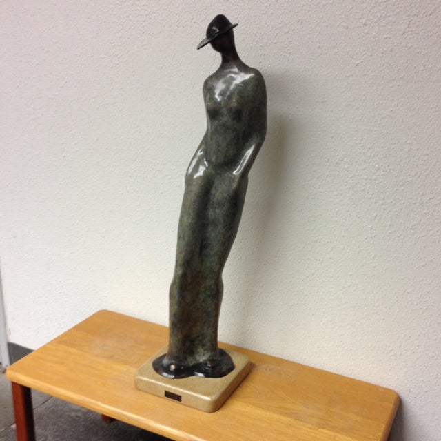 """Image of """"Contraposto"""" Sculpture by Guilloume"""