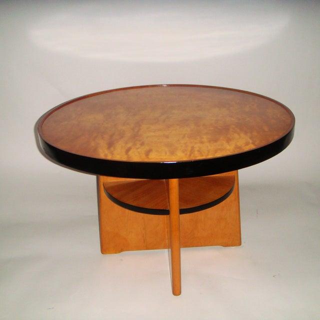 Swedish Art Deco Coffee Table - Image 4 of 5