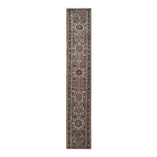 Surena Rugs Vintage Handmade Persian Runner Rug - 1′10″ × 11′