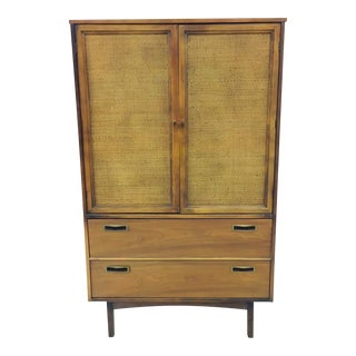Vintage Mid Century Armoire Chest