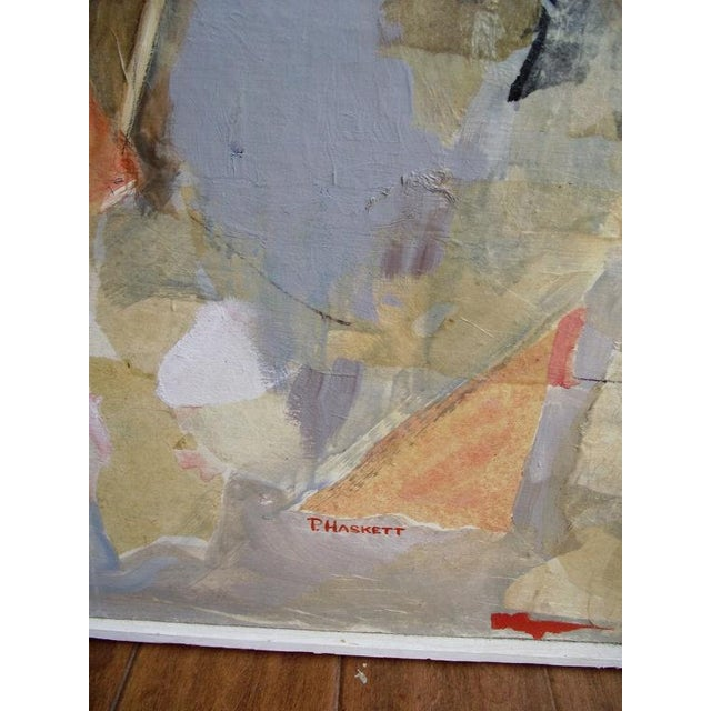 Mod Abstract Portrait Painting - Image 7 of 7