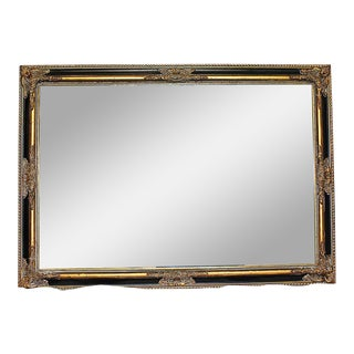 Baroque Black And Gold Mirror