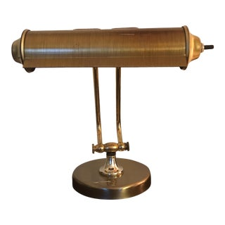 Vintage Brass Piano Lamp