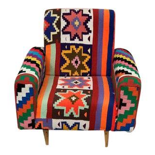 Handmade Turkish Kilim Chair