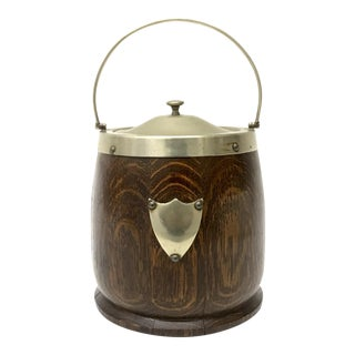 English Biscuit Barrel Ice Bucket