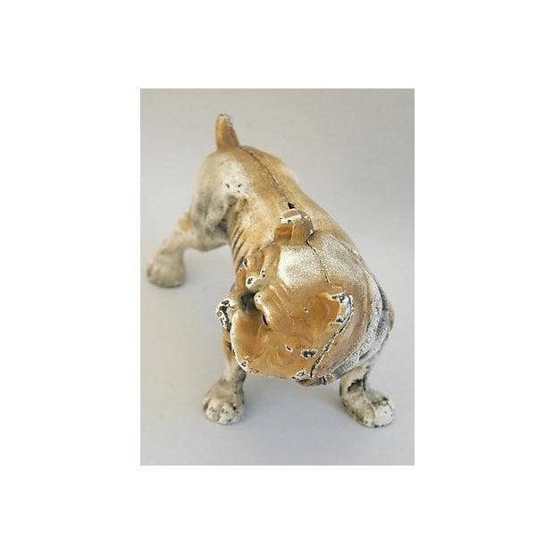 Cast Iron Bull Dog Bank/Door Stop - Image 5 of 8