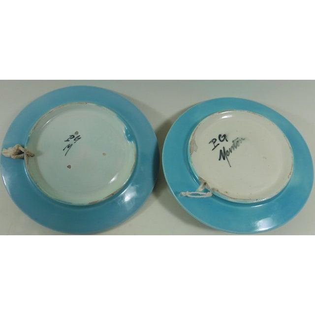 Majolica Lemons & Oranges Plates - A Pair - Image 4 of 4