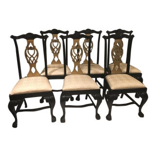 Chippendale Dining Chairs - Set of 6