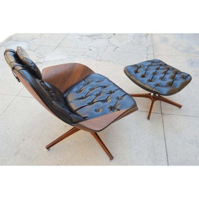 Plycraft Lounge Chair & Ottoman, George Mulhauser - Image 3 of 10