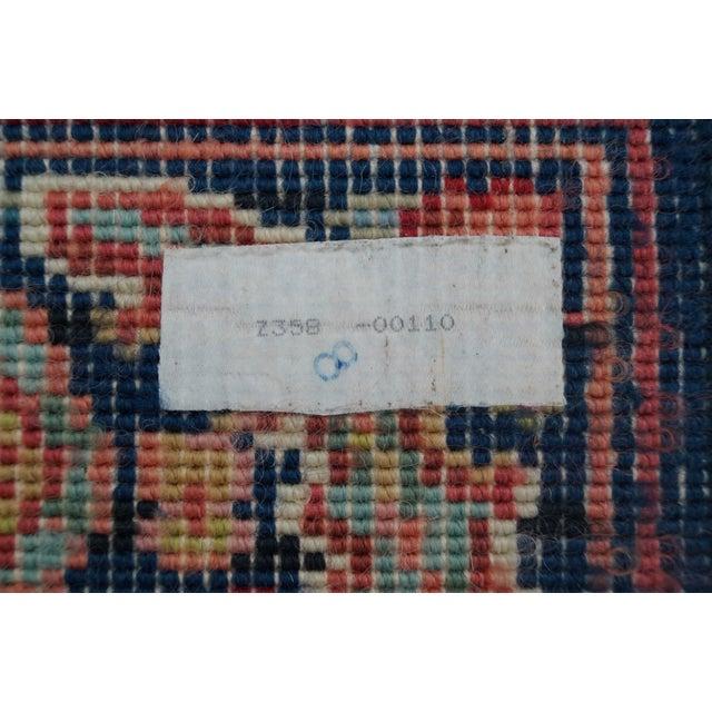 Vintage Karastan Heriz Area Rug - Image 9 of 9