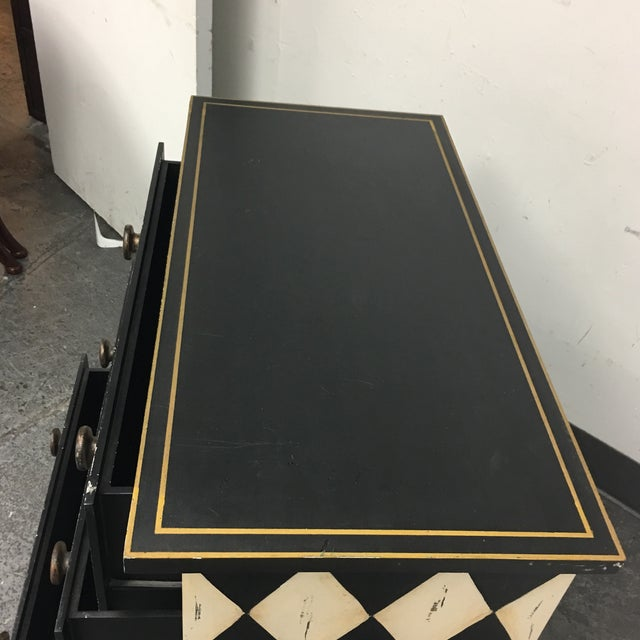 Diamond Motif 3 Drawer Dresser - Image 6 of 6
