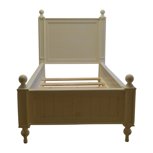 Farmhouse Style Beadboard Bed - Image 1 of 5