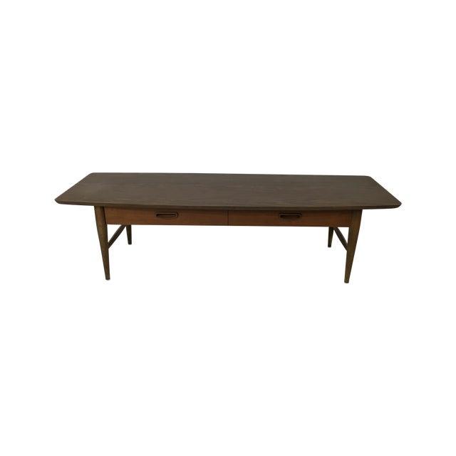 Lane Mid-Century Surfboard Coffee Table - Image 1 of 7