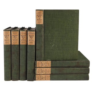 English Men of Letters Volumes - Set of 8