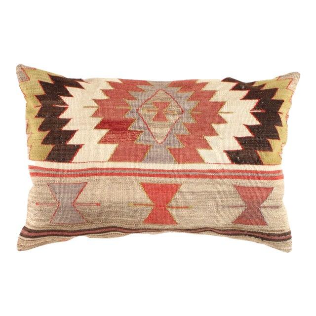 "Vintage Kilim Pillow - 2'8"" X 1'10"" - Image 1 of 3"