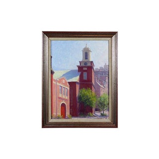 Beacon Hill Oil Painting