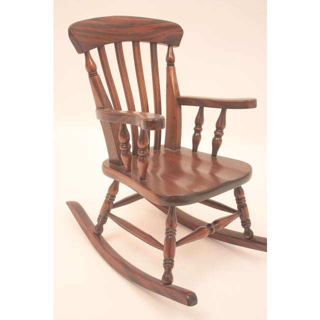 Winsor-Style Doll Rocking Chair - Image 2 of 6