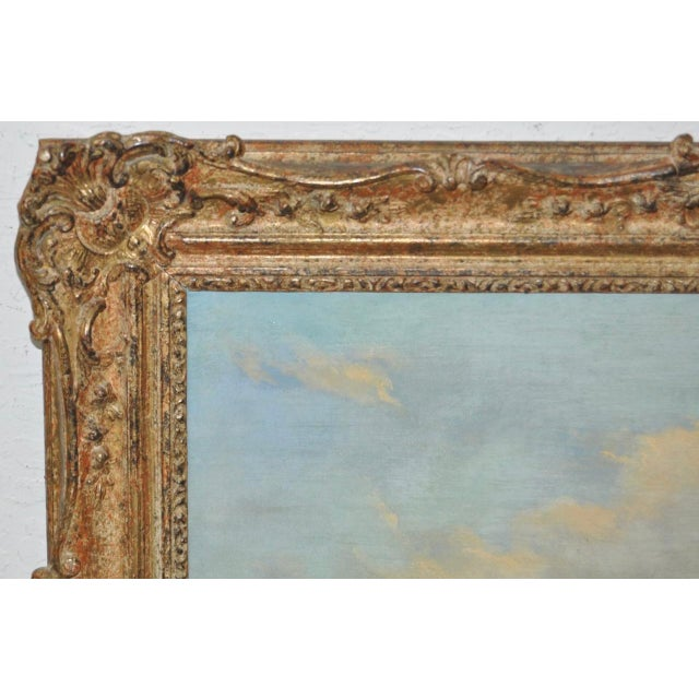 "James Baker Pyne ""Downham, Norfolk"" Original Oil Painting - Image 8 of 11"