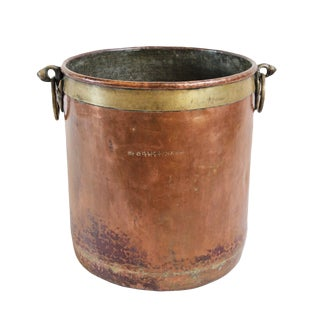 Vintage Copper Rajasthan Container