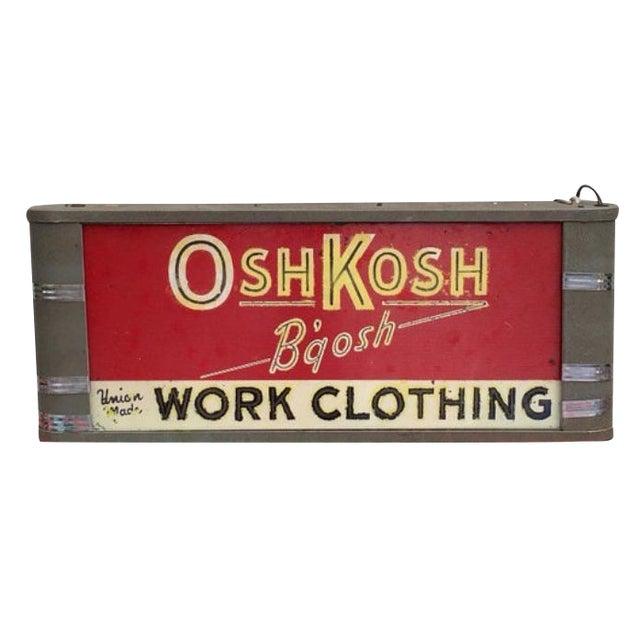 Osh Kosh B'gosh Light Up Sign - Image 1 of 6