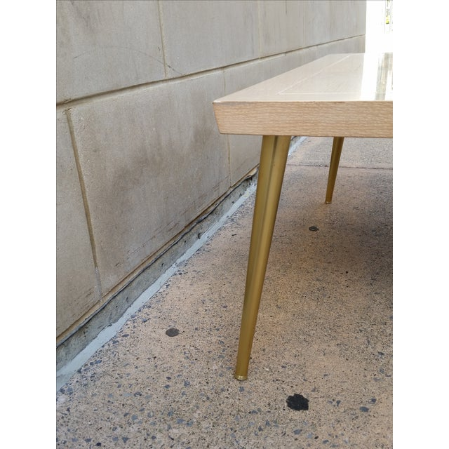 Lane Parquet-Top Coffee Table - Image 5 of 8