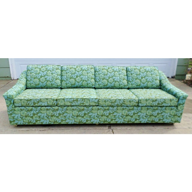 Image of Vintage Mid- Century Modern Sofa