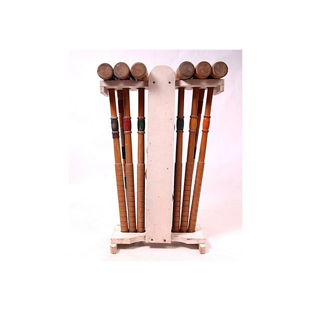 Vintage Croquet Set - 24 Pieces - Image 3 of 7