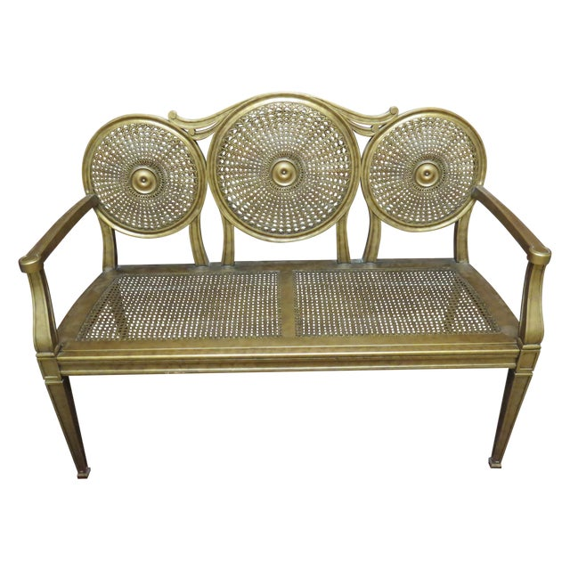 Vintage Gold Bench by Silver Back - Image 1 of 6