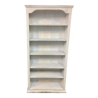 French Cottage Style Painted Bookshelf