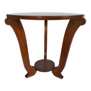 Oak Art Deco Side Table