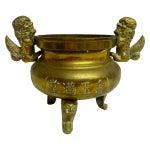 Image of Brass Foo Dog Urn