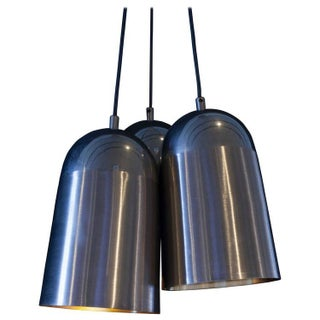 Vintage Steel Three Light Pendant
