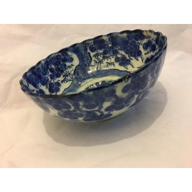 Image of Blue & White Chinese Porcelain Dish