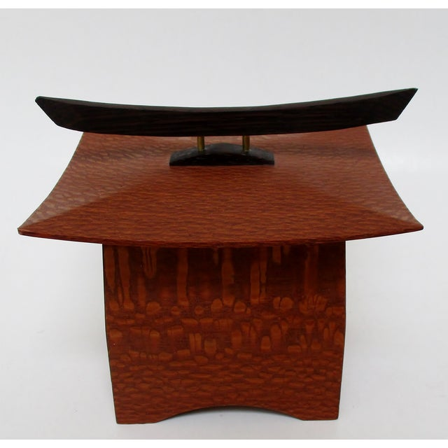 Japanese Maple Pagoda Box - Image 2 of 8