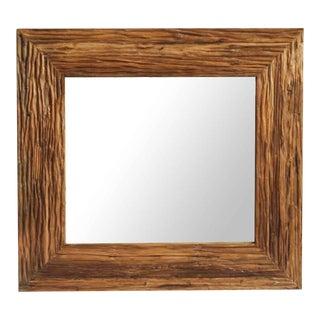 Deep Grain Wood Mirror