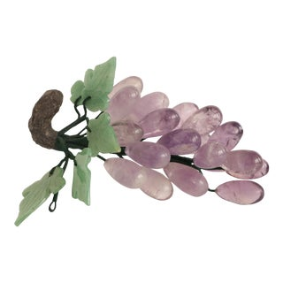 Amethyst Purple Stone Grape Cluster