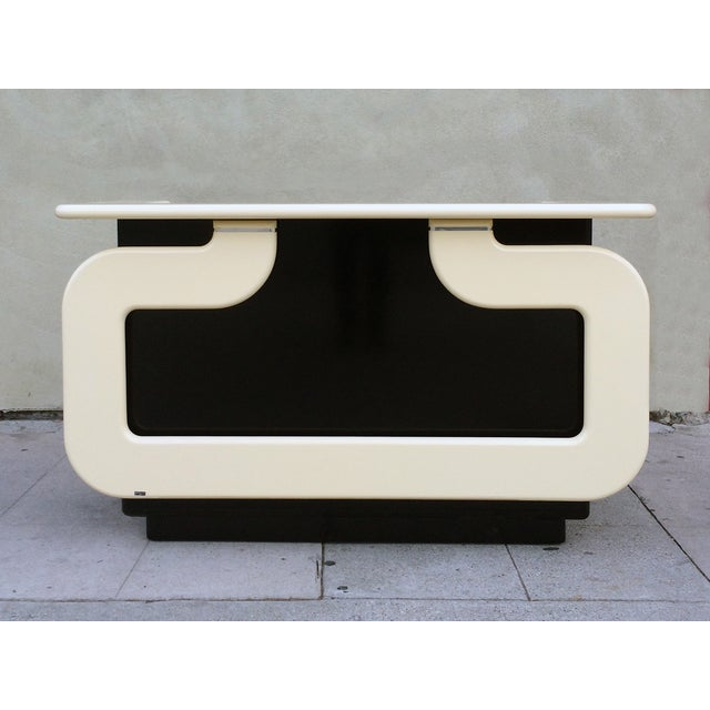 Black and Ivory Lacquer Dry Bar - Image 2 of 7