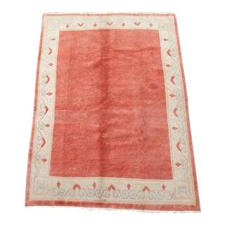 Vintage Nepali Area Rug - 5'5 x 7'8