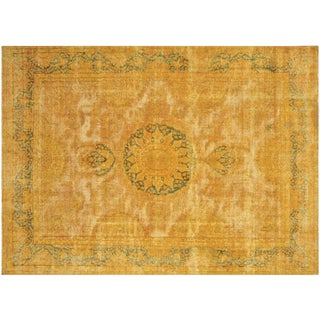 """Vintage Persian Overdyed Rug - 9'9"""" x 14'1"""""""