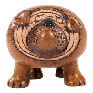 Lisa Larson Bulldog Sculpture