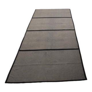 Danish Flat Woven Wool Carpet -- 9′11″ × 14′11″