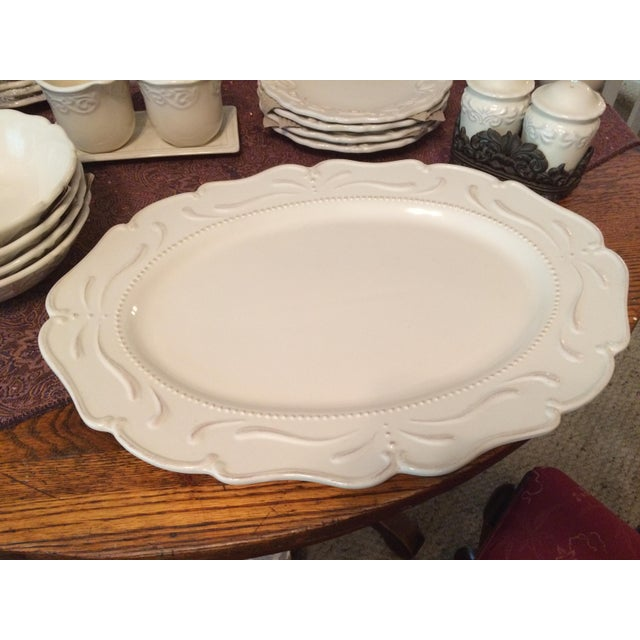 Chris Madden Corvella Ivory Tableware
