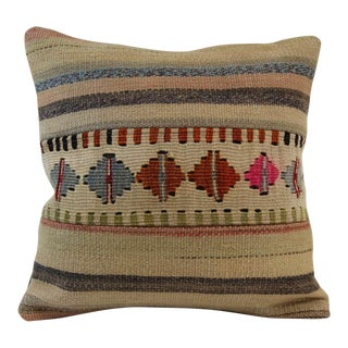 Vintage Turkish Handmade Kilim Pillow Cover