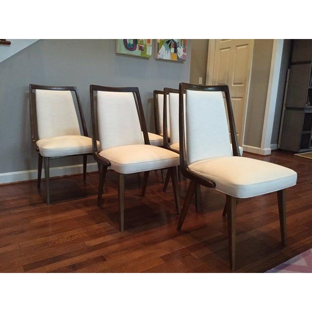 Mid-Century Danish Dining Chairs - Set of 6 - Image 9 of 10