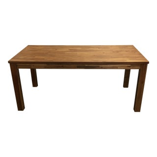 N.P.D Tiburon Dining Table With Amber Finish