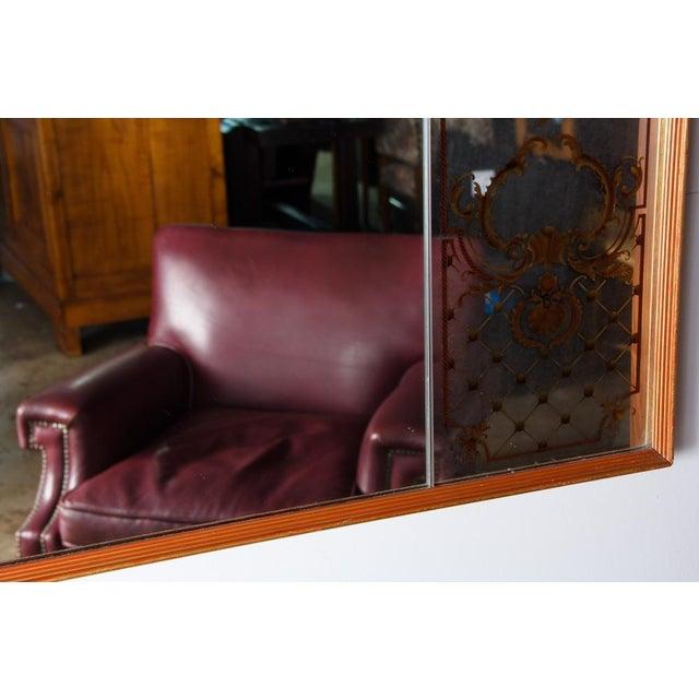 Image of 1960's Vintage Italian Large Eglomise Mirror