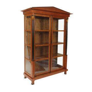 Austrian Biedermeier Style Bookcase – Cabinet