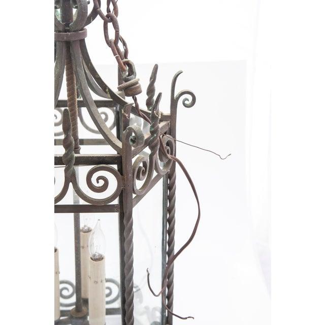 Six-Sided Iron Lantern - Image 3 of 9
