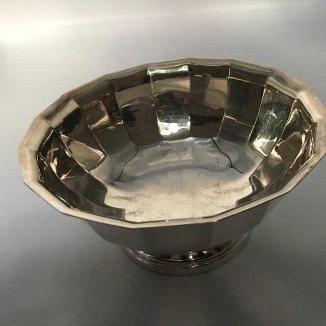 Vintage Gorham Fluted Silve Plate Bowl - Image 6 of 8