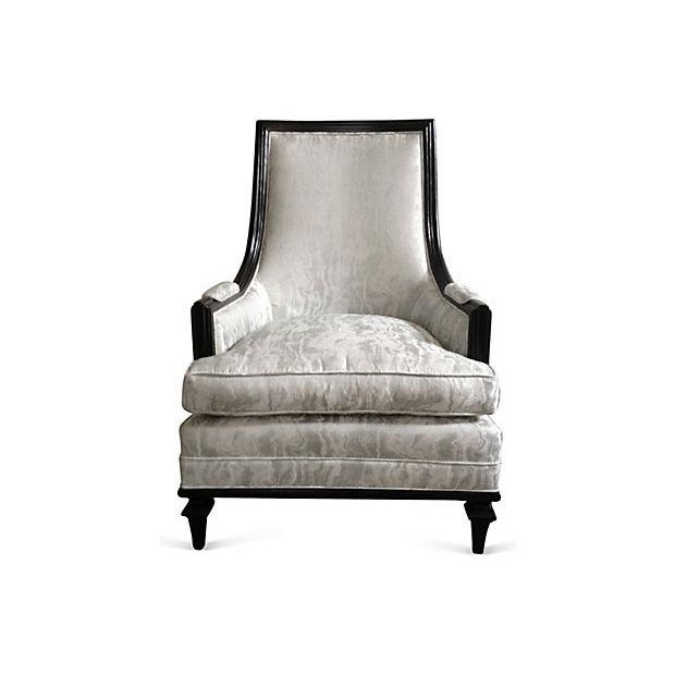 Baker Attri. Vintage 1956 High-Back Club Chair - Image 6 of 8